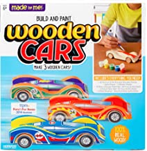 Made By Me Build & Paint Your Own Wooden Cars by Hor