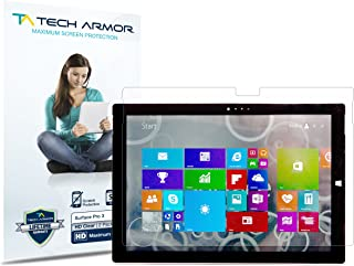 Tech Armor High Definition HD-Clear Film Screen Protector (Not Glass) for Microsoft Surface Pro 3 (2014)[Not 10.1