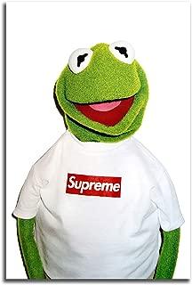 #01 Hypebeast Kermit Large Print Poster