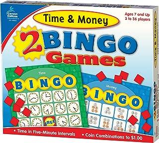 Carson-Dellosa Time & Money Bingo Board Game (140042)