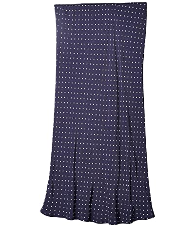 Lucky Brand Willa Slip Skirt (Navy Multi) Women