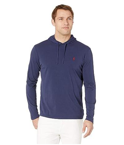 Polo Ralph Lauren Hooded Jersey Tee (Newport Navy) Men