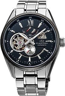 [オリエント]ORIENT 腕時計 ORIENTSTAR オリエントスター セミスケルトン 機械式 自動巻(手巻付) ブラック WZ0271DK メンズ