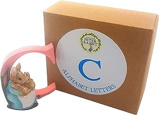 OFFICIAL LICENSED BOXED BEATRIX POTTER MRS RABBIT BUNNIES ALPHABET LETTER C