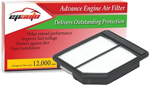 new arrival EPAuto GP165 (CA10165) Replacement for Honda Extra Guard Rigid Panel Engine Air online Filter for Civic (2006-2011), Suggest Replace with Cabin Air online sale Filter with CP134 (CF10134) online sale