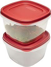 Rubbermaid Easy Find Lid Food Storage Set, 7 Cup, 2 Piece Set