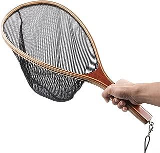 Mounchain Fishing Net Fly Fishing Landing Net for Trout Bass Fishing Catch and Release