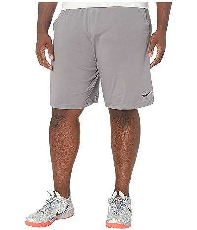 Nike Big Tall Training Shorts (Gunsmoke/Black) Men
