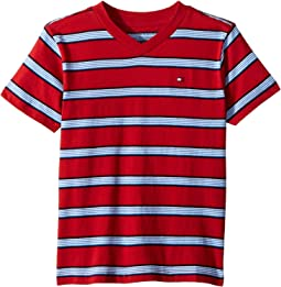 Tommy Hilfiger Kids Sam Short Sleeve Tee (Toddler/Little Kids)
