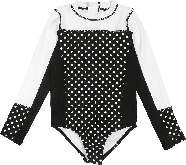 SwimZip In stock UPF 50+ Girls Long Sleeve sold out Body Mu 1 Swimsuit Suit Piece