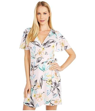 BCBGeneration Wrap Dress TTI6297019 (Multi) Women