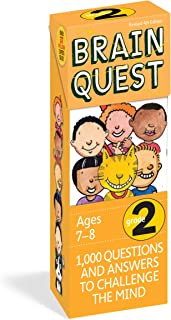 Brain Quest Grade 2: 1,000 Questions and Answers to Challenge the Mind