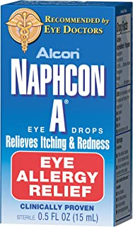 Naphcon A Eye Drops 15 mL (Pack of 3)