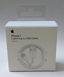 Apple lightning to USB Cable For Iphone 7 - 1M - White MD818ZM/A