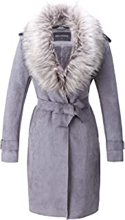 Best long coat with fur collar Reviews