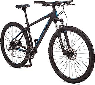Schwinn Moab 3 Adult Mountain Bike, Aluminum Frame, 24 Speeds, 29-Inch Wheels, Hydraulic Disc Brakes, Black