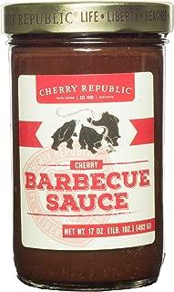 Cherry Republic Cherry Barbecue BBQ Sauce 16 Ounce