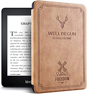 Case for Previous Kindle Paperwhite - (Not Fit All-New Paperwhite 2018 10th Gen), Camel