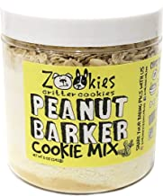 Zookies Cookies Organic Dog Treats DIY Bake at Home Natural Peanut Butter Pet Biscuits – Peanut Barker - Makes Up To 3 Doz...