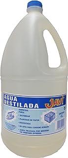 Agua Destilada Javi 4 Lt. Especial para baterías, planchas, laboratorios, etc.