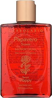 LErbolario Loti LErbolario Shower Gel - Sweet Poppy - Floral, Amber Scent - Gently Cleanses, Softens & Tones Skin - Cruelt...