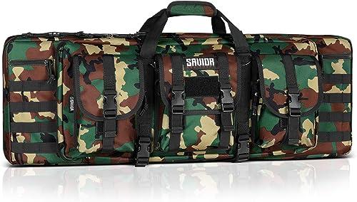 Savior Tactical Double Long Rifle Pistol Gun Bag