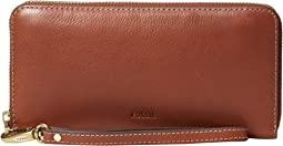 Emma Large Zip Clutch RFID