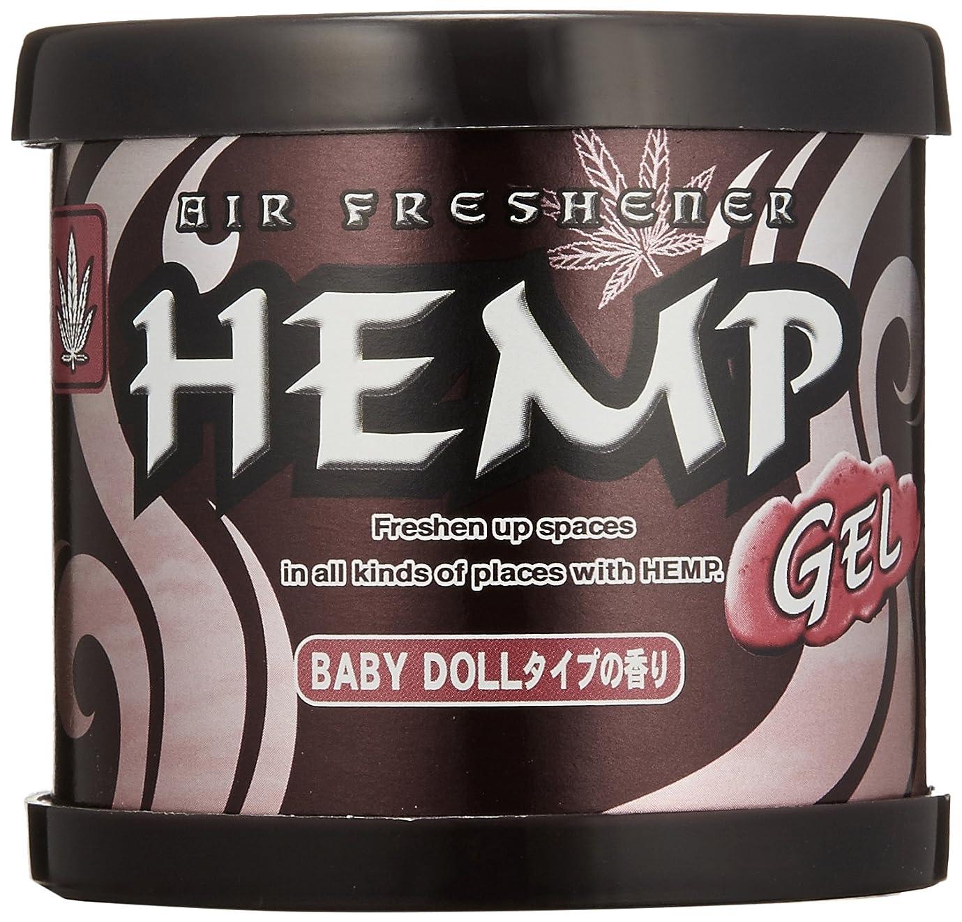 違法ナプキン少数ヘンプ 消臭 芳香剤 フレグランスジェル ピンキッシュドール 80g OA-HEG-1-12