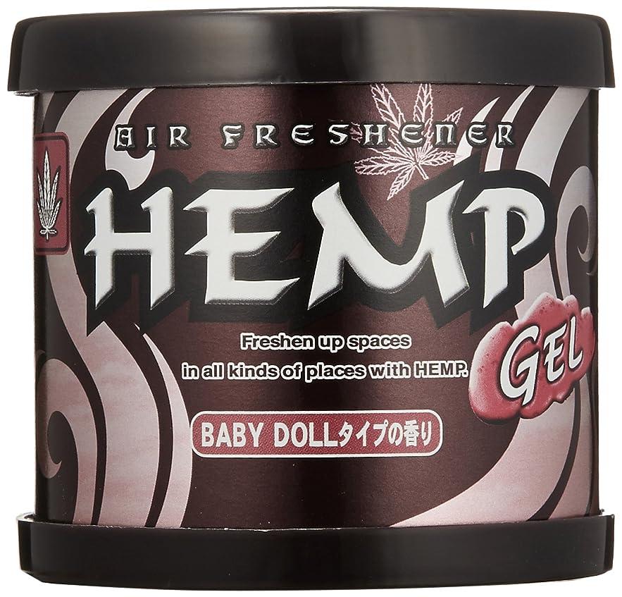 ルーフ世代マーチャンダイザーHEMP フレグランスジェル ベビードールタイプの香り 80g OA-HEG-1-12
