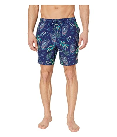 Vineyard Vines Riding The Wake Chappy Trunks (Deep Bay) Men