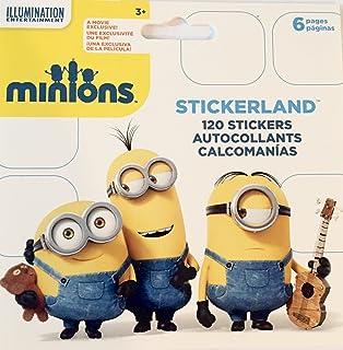 Minions Movie Mini STICKERLAND Pad - 6 Page