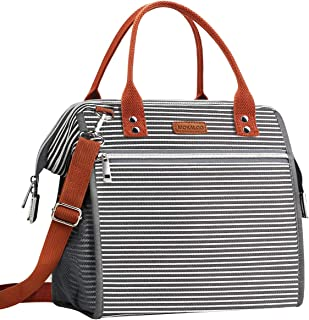 Insulated Lunch Bag, MOKALOO Large Capacity Lunch Tote Box With Removable Shoulder Strap,..