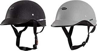 Habsolite All Purpose Safety Helmet with Strap - Black and Grey Combo