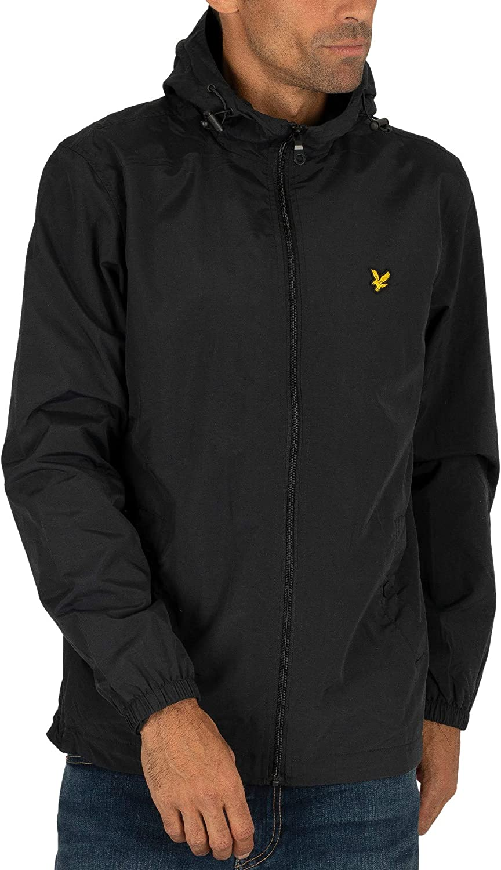 Lyle Scott Men Fort Worth Max 59% OFF Mall Lightweight Jacket Zip Micro Lined Throu Fleece