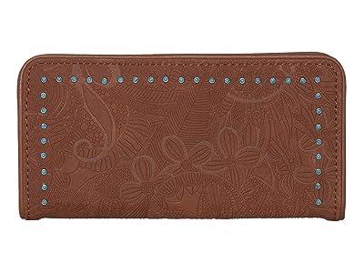Sakroots Arcadia Slim Wallet (Tobacco) Wallet