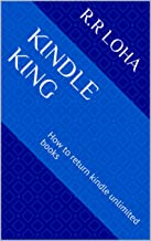 kindle king: How to return kindle unlimited books