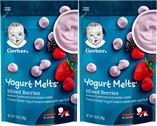 Gerber Yogurt Melts Mixed Berry (Pack of 2)