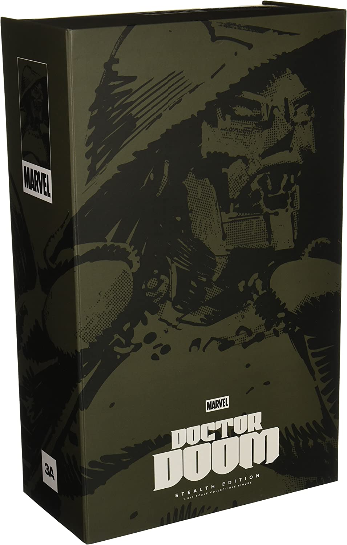 Marvel Actionfigur 1 6 Doctor Doom Stealth 34 cm