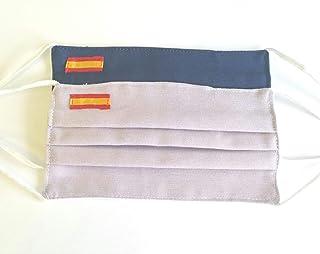 Pack 2 mujer lila y azul bandera de España