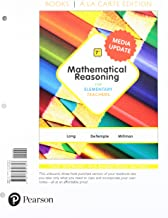 Mathematical Reasoning for Elementary Teachers, Loose-Leaf Version Plus MyLab Math Media Update -- 24 Month Access Card Package (7th Edition)