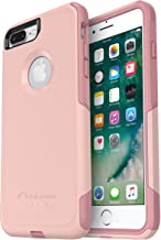 OtterBox COMMUTER SERIES Case for iPhone 8 PLUS & iPhone 7 PLUS (ONLY) - Frustration Free Packaging - BALLET WAY (PINK SAL...