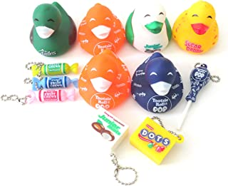 AAG One Dozen Tootsie Roll Favors 6 Charms and 6 Rubber Ducks