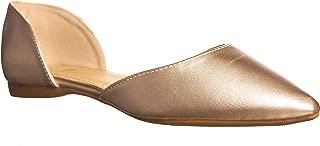 Women's Riley Pointed Toe, D'Orsay Open Side Flat Shoe