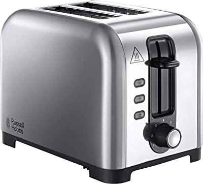 Russell Hobbs 23530 Henley 2 Slice Toaster-Stainless Steel, Silver