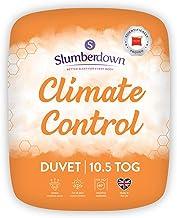 Slumberdown Climate Control poszwa na kołdrę, biała, łóżko pojedyncze/4,5 tog, biała, King Size