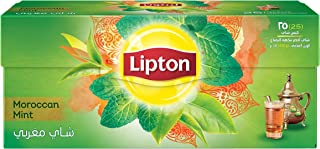 Lipton Green Tea Moroccan Mint, 25 Bags