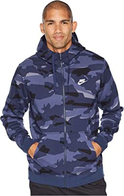 NSW Club Camo Hoodie Full Zip BB