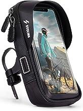 ONEFLOW Handyhalterung Fahrrad Lenkertasche Wasserdicht für Huawei P Reihe Fahrradhalterung 360° Drehbar Handyhalter Motorrad Fahrradtasche Lenker Smartphone Halterung mit Fenster, Schwarz