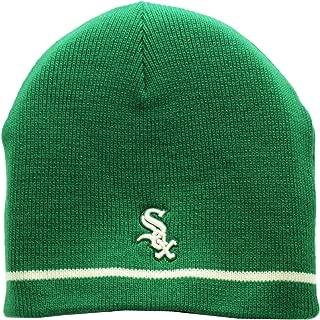 Chicago White Sox St. Patricks Day Skull Knit Cap