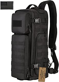 featured product ArcEnCiel Tactical Sling Bag Pack Military Shoulder Backpack EDC Molle Assault Range Bags Day Packs with Patch
